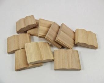 wood books