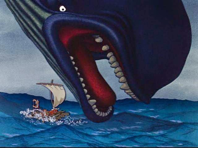 pinocchio jump monstro boat