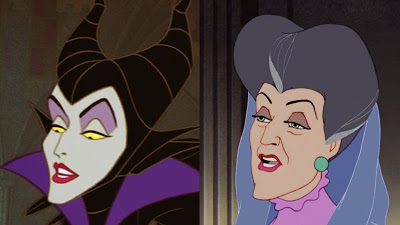 evilness maleficent lady tremaine cinderella