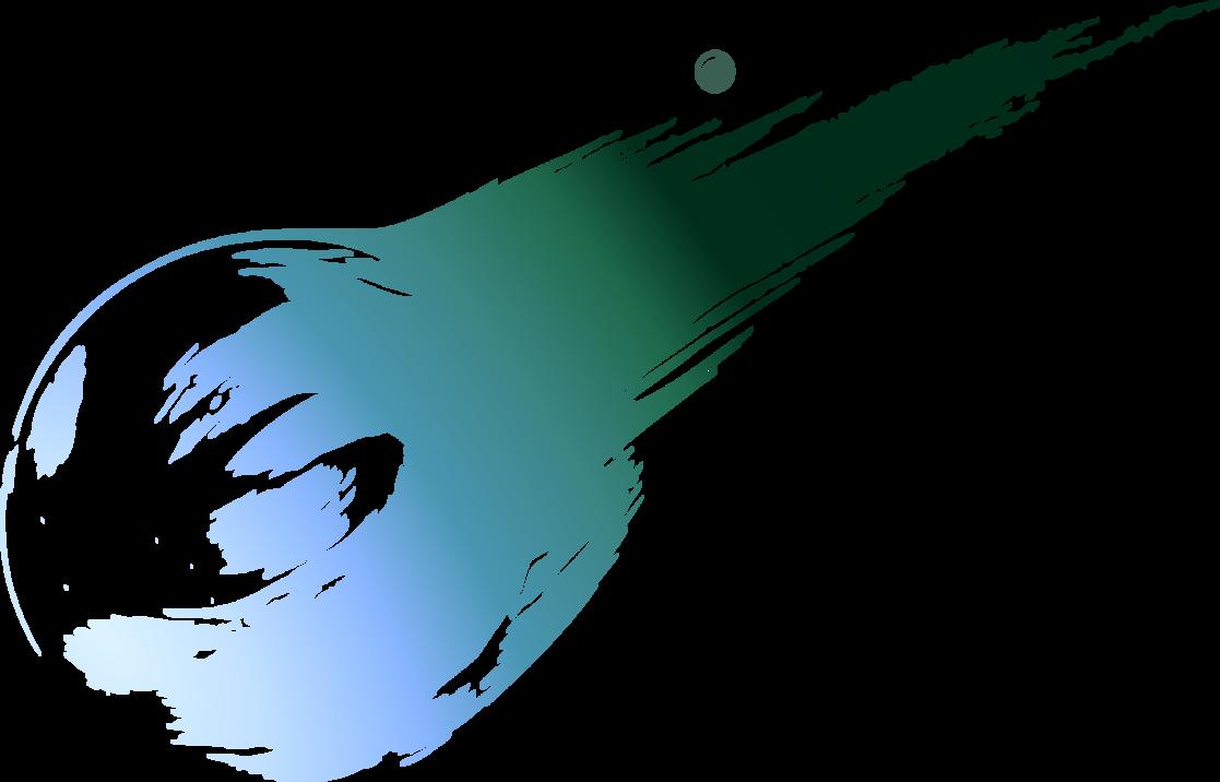 final fantasy vii 7 logo meteor