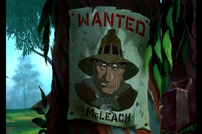 charstrengths mcleach rescuers down under wanted poster