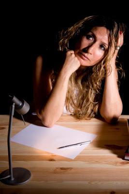 depressed writer