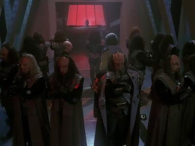 klingon star trek discommendation
