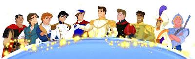 disney prince line-up