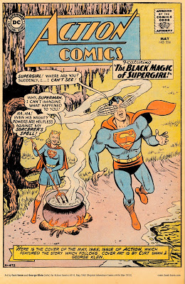 action comics superman supergirl