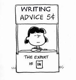 peanuts lucy psychiatrist booth writing advice