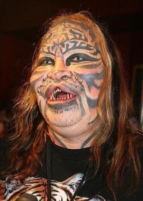 tattoo cat person