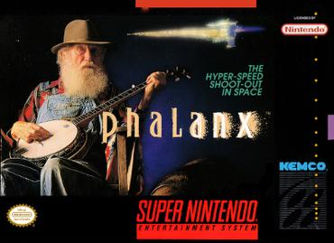 snes phalanx box cover