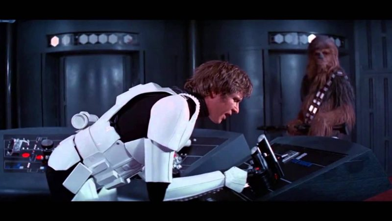 han solo we're all fine up here control room