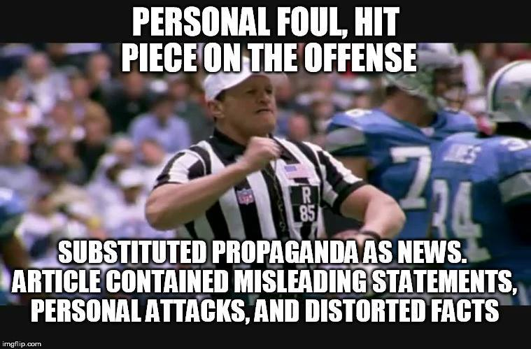 referee foul logical argument fallacy