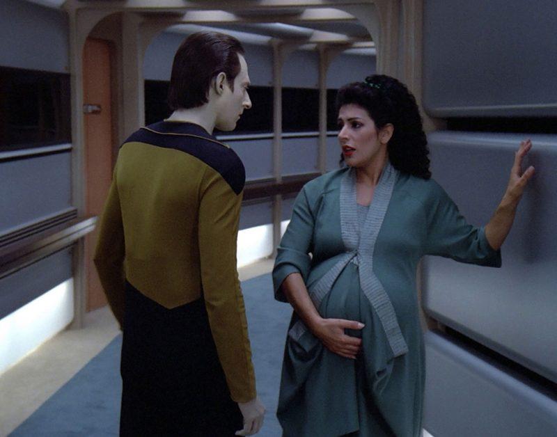 data pregnant troi star trek