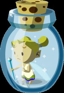 wind waker fairy bottle zelda