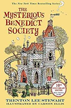 mysterious benedict society Trenton Lee Stewart