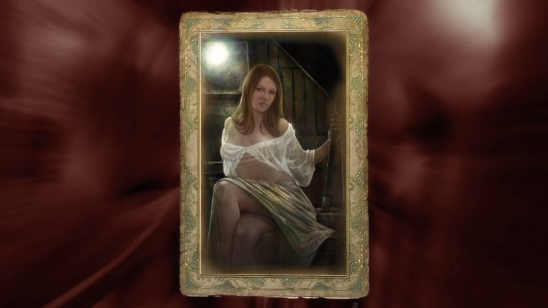 witcher romance card