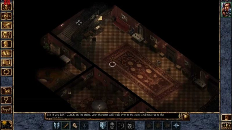baldur's gate dungeons and dragons computer game