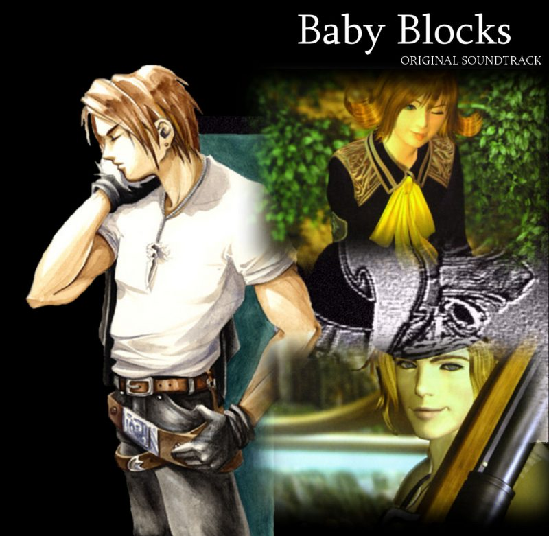 Baby Blocks squall final fantasy