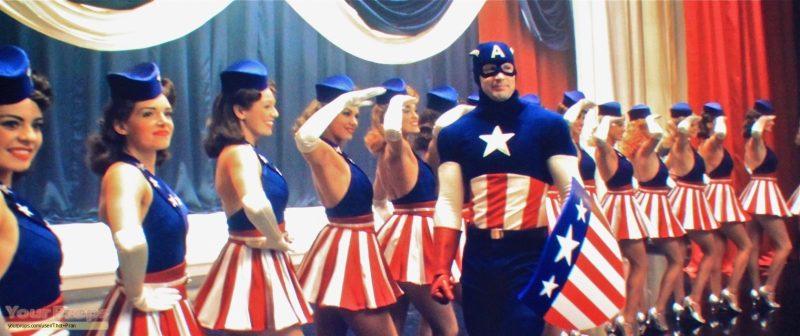 captain america uso
