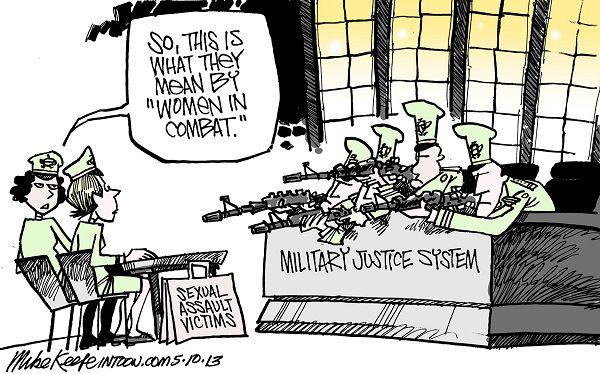 Military Sexual Assault cartoon
