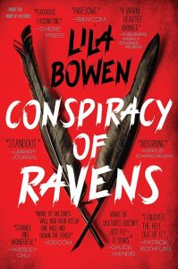 lila bowen consipiracy of ravens