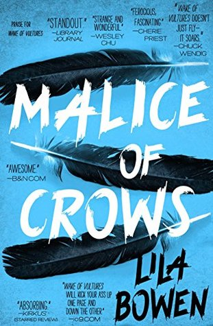 lila bowen malice of crows