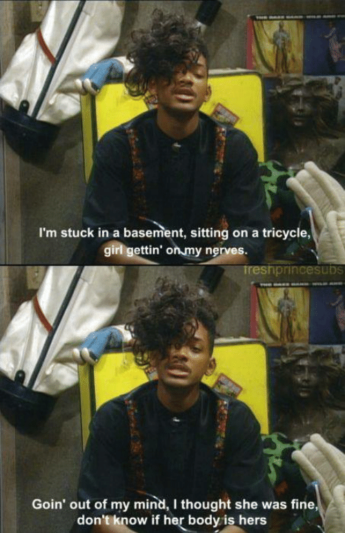 will smith stuck in basement