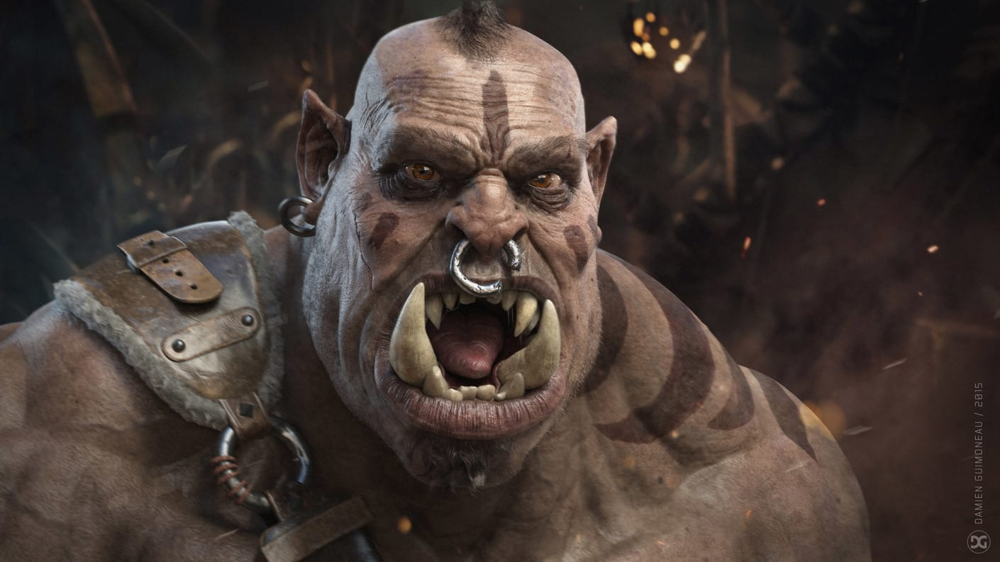 angry orc