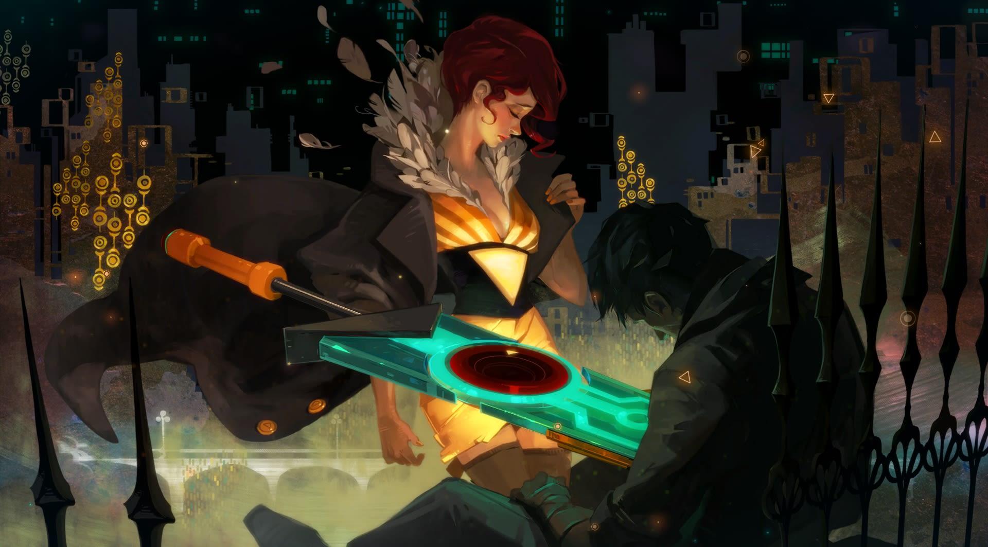 transistor stabbing video game