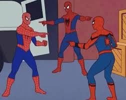spider-man standoff