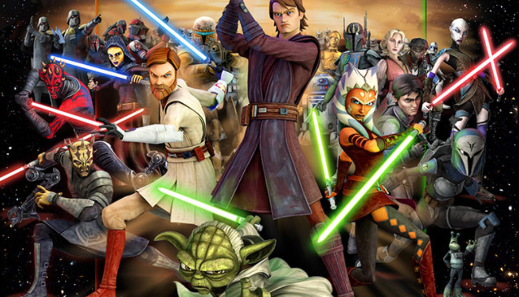 clone wars star wars cast