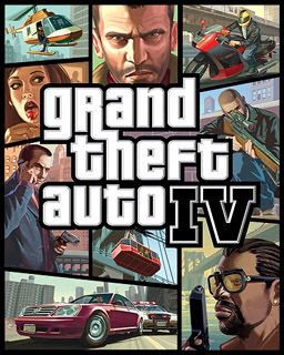 grand theft auto 4 box cover